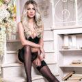 Anastasija - Vollblutige High Class Luxus Modelle betört mit Zungenküsse bei Reisebegleitung