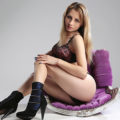 Elena - Sporty Hobby Hooker from Lithuania seduces with seductive Striptease during Home Visits