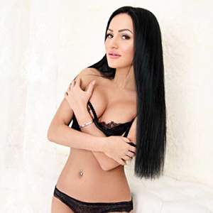 Jasmin - Lovely Model from Lithuania stimulates with a Striptease during a Sex Date