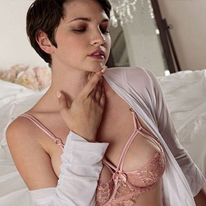Morena - Lesbian Women from Italy turn on Dildo Games when visiting Hotels